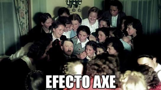 hitler efecto axe