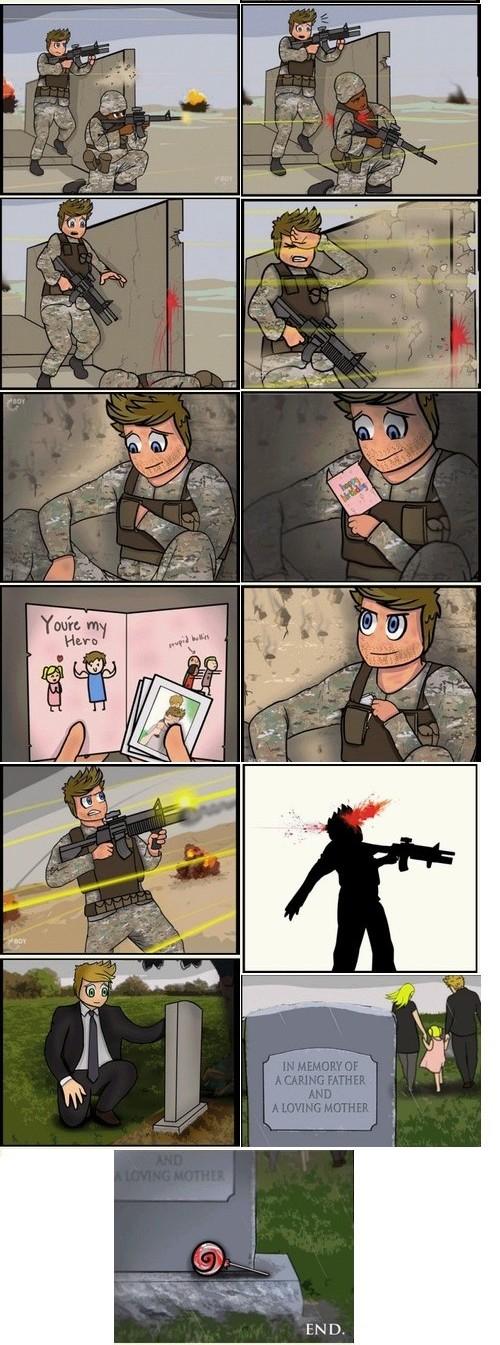 minicomic guerra